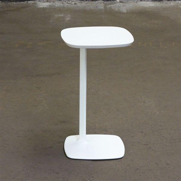 Sidebord. Allermuir Host. Komplet hvid.