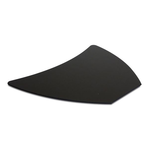 Image of   Bordplader i sort gummi, bugatti fra Holmris.