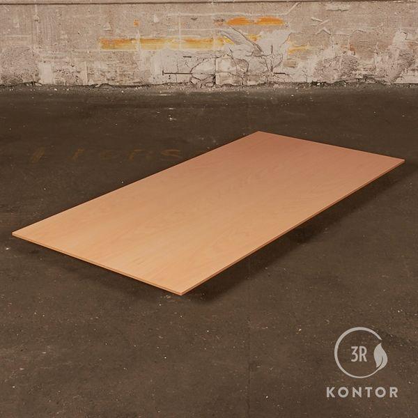 Bordplade - Rektangulær - Bøg - Lakeret kant - 180x90