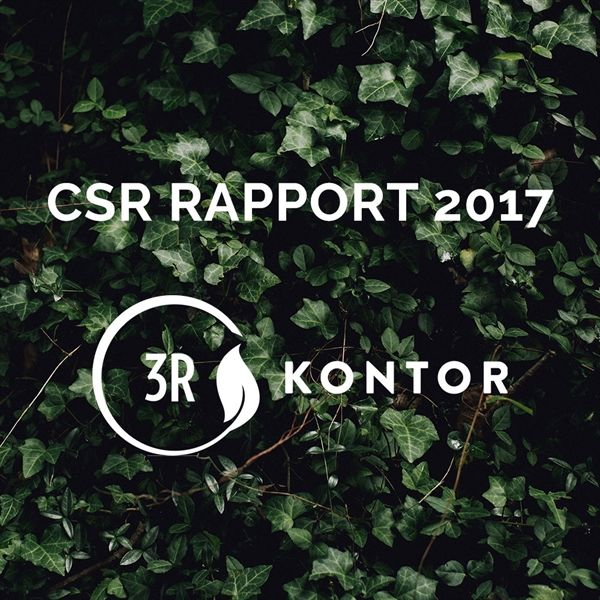 Image of   3R Kontor - CSR Rapport 2017