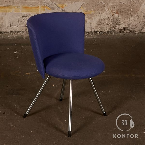 Image of   Erik Jørgensen EJ 11 Donna stol. Lilla polster.