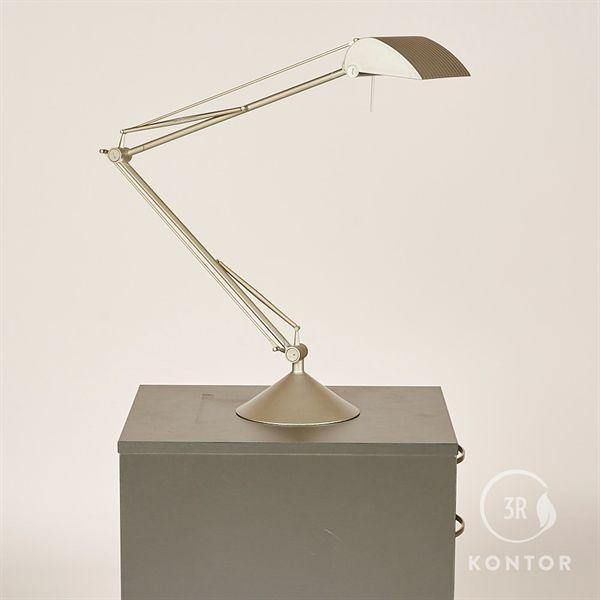 Image of   Flos bordlampe, grå med stort hoved