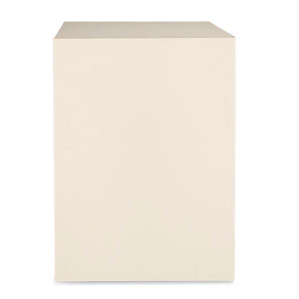 Image of   Højbord. Monteres på væg. Hvid laminat.100x80